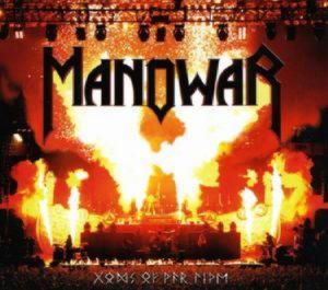 MANOWAR - GODS OF WAR  —  LIVE /2CD/
