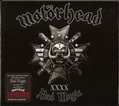 Motörhead - Bad Magic (CD+DVD)(2016)