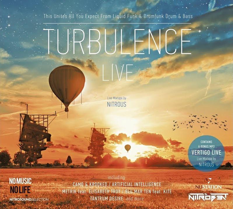 Turbulence - Live mix By Nitrous (2CD, digipak)