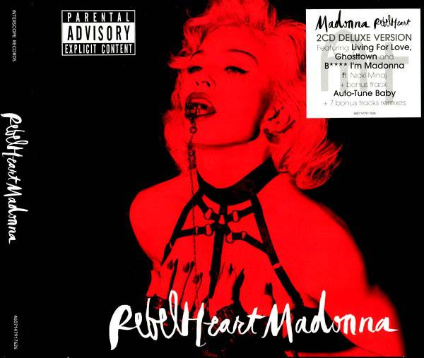 Madonna - Rebel Heart (2015) (2CD, Digipak)