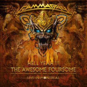 GAMMA RAY - HELL YEAH!!! LIVE IN MONREAL /2 CD/