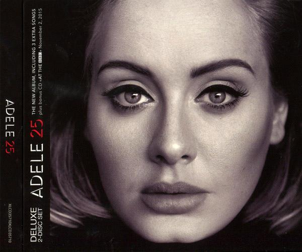 Adele‎ - 25 (Deluxe Edition, 2 CD)
