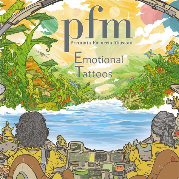 Premiata Forneria Marconi (PFM) - Emotional Tattoos (2CD, 2017)