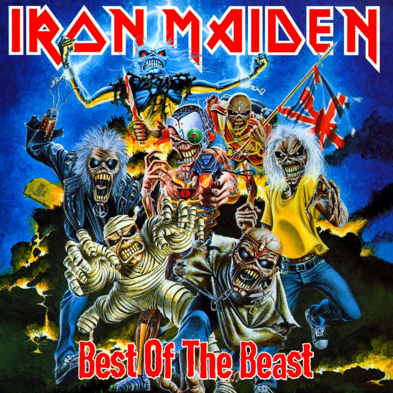 Iron Maiden - Best Of The Beast (2CD, 1996)