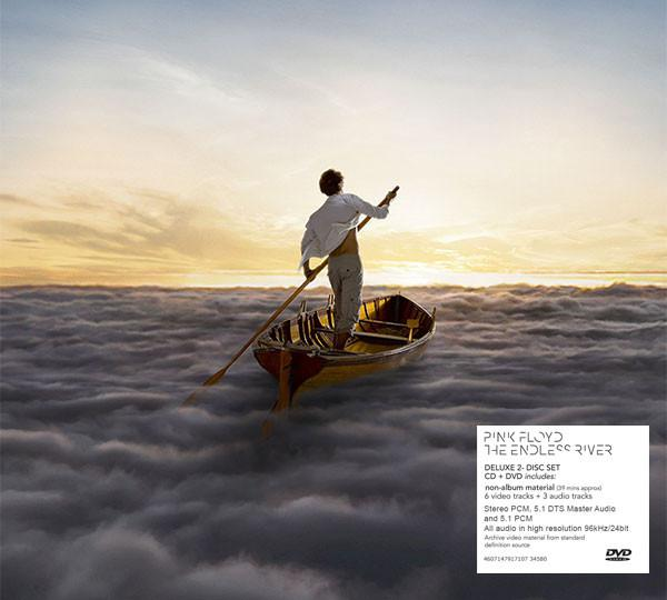 Pink Floyd - The Endless River (Deluxe Edition, Digipak) (CD+DVD, 2014)