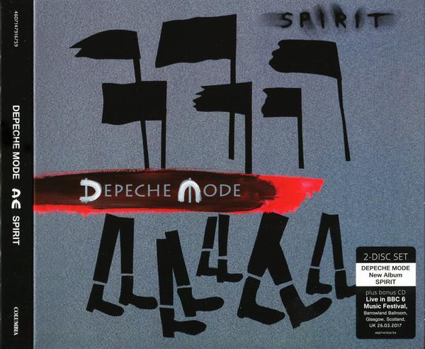 Depeche Mode - Spirit (2CD, 2017) (Digipak)