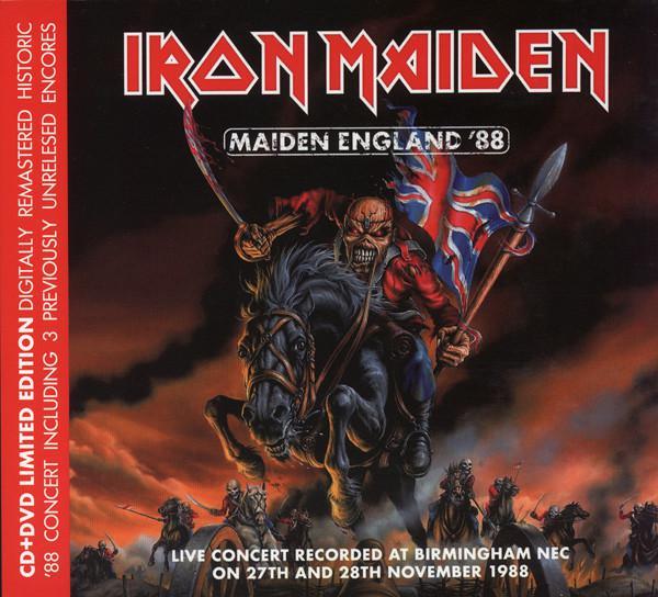 Iron Maiden - Maiden England '88 (2013) (CD+DVD) (Digipak)