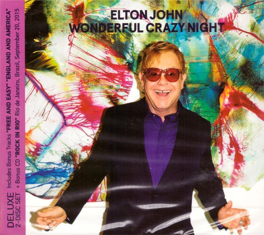Elton John - Wonderful Crazy Night (2016) (2CD, Digipak)