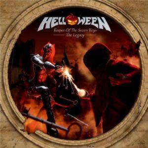 HELLOWEEN - KEEPER OF THE SEVEN KEYS  —  THE LEGASY /2 CD/