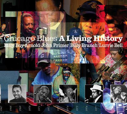 Billy Boy Arnold, John Primer, Billy Branch, Lurrie Bell, Carlos Johnson - Chicago Blues A Living History (2CD, 2009)