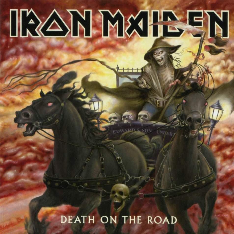 Iron Maiden - Death On The Road (2CD, 2005)