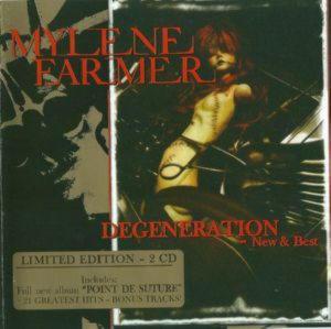 Mylene Farmer - Degeneration  —  New & Best /2 Cd/