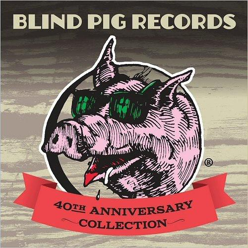 Сборник - Blind Pig Records  —  40th Anniversary Collection (2CD, 2017)