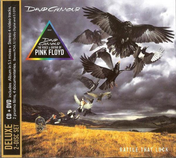 David Gilmour - Rattle That Lock (2015) (CD+DVD, Digipak)