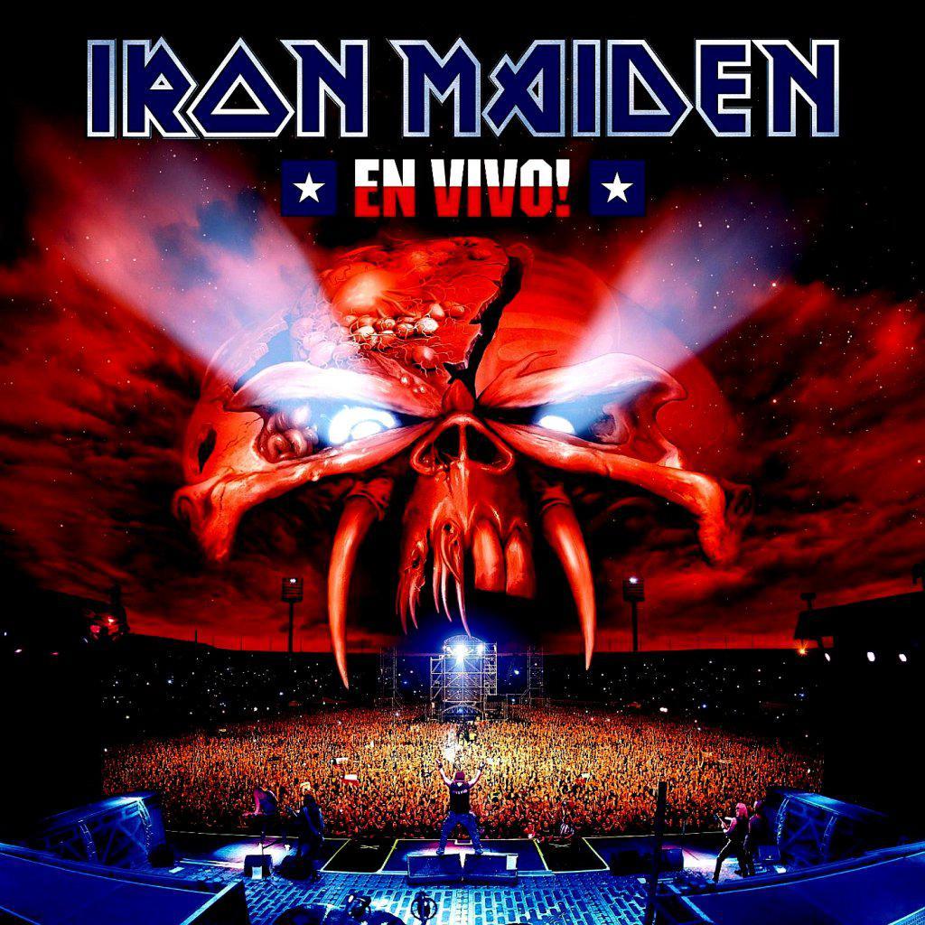 Iron Maiden - En Vivo! (2CD, 2012)