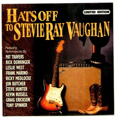 VA - Blues Bureau - Hats Off To Stevie Ray Vaughan (Tribute) (1993)