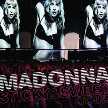 Madonna - Sticky & Sweet Tour (cd+dvd) (Digipak) (2008)