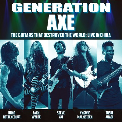 Generation Axe — The Guitars That Destroyed the World (Live in China) (2019)