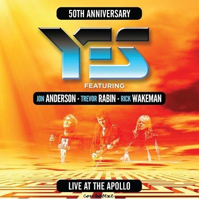 Yes — 50th Anniversary Yes Live At The Apollo (2 CD) (2019)
