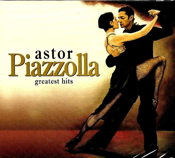 Astor Piazzolla — Greatest Hits (2 CD) (digipak)