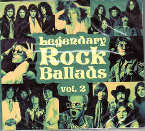 Сборник — Legendary Rock Ballads Vol. 2 (2 CD) (digipak)