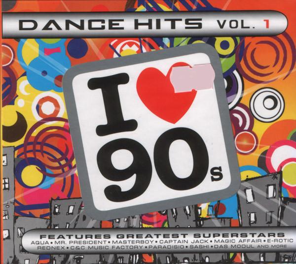 Сборник — Dance Hits Vol. 1 (I Love 90s) (digipak)