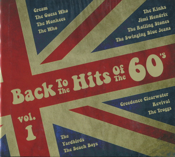 Сборник — Back To The Hits Of The 60's Vol.1 (2 CD) (digipak)