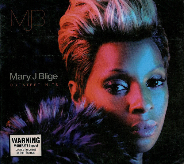 Mary J Blige — Greatest Hits (2CD, digipak)