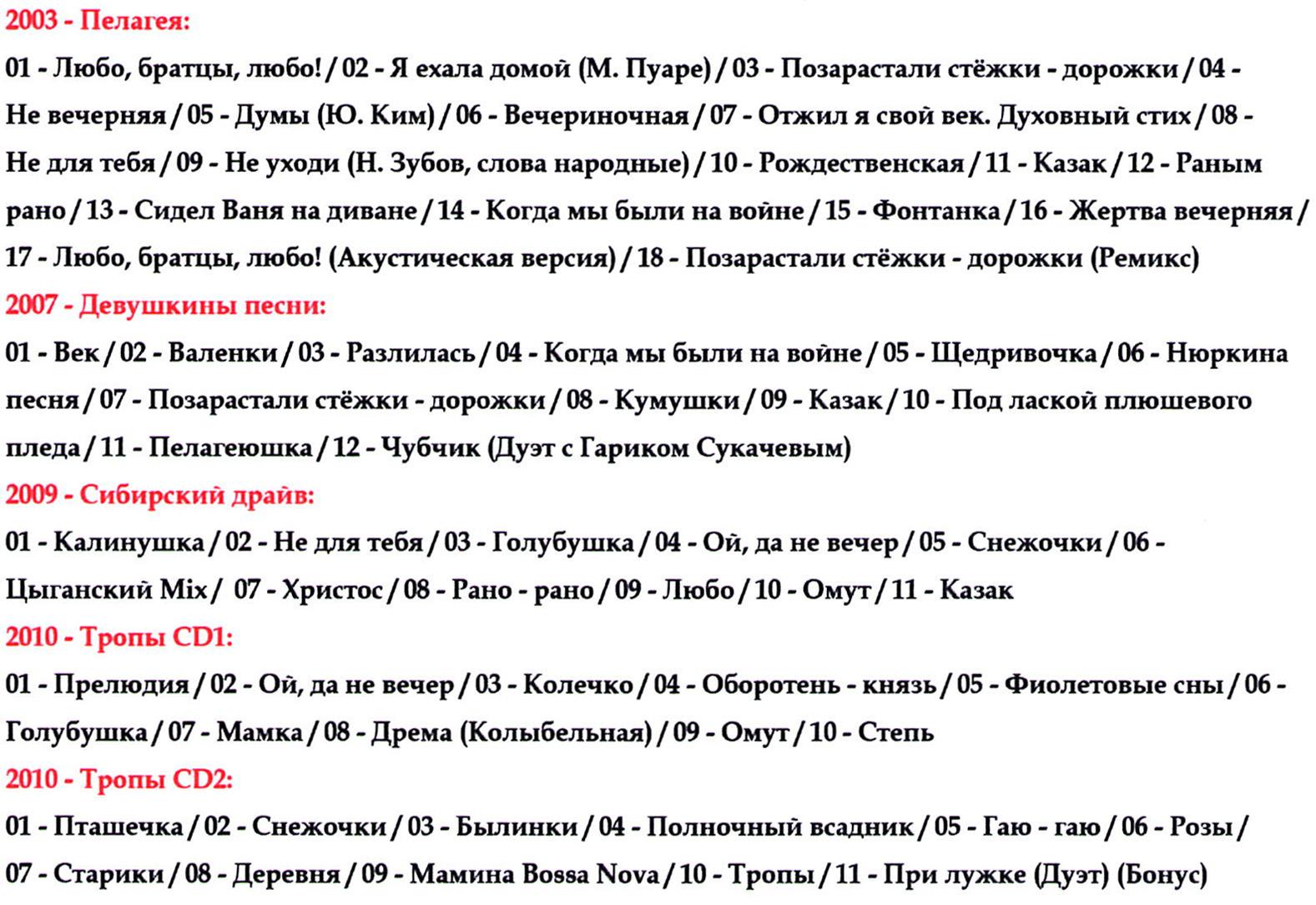 Пелагея [mp3]
