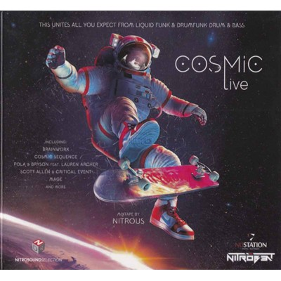 Сборник – Cosmic Live (2cd, digipak)