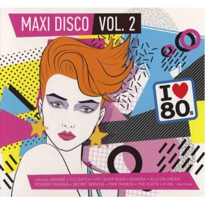 Сборник – Maxi Disco vol.2 (2cd, digipak)