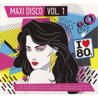 Сборник – Maxi Disco vol.1 (2cd, digipak)