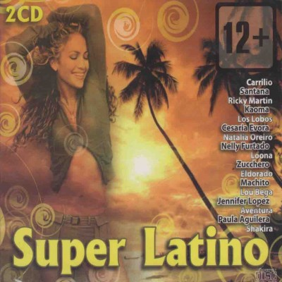 Сборник - Super Latino (2cd, digipak)