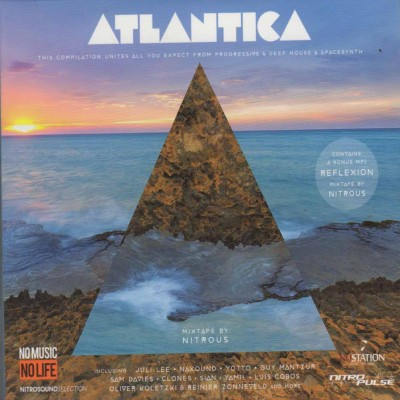 Сборник – Atlantica (2cd, digipak)