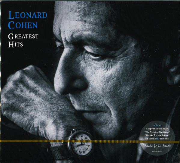 Leonard Cohen - Greatest Hits (2cd, digipak) (2020)