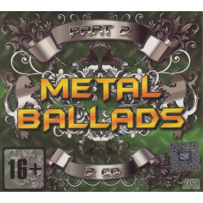 Сборник – Metal Ballads Vol.2 (2 CD) (digipak)