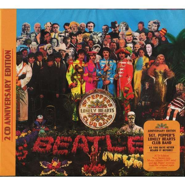 The Beatles - Sgt. Pepper's Lonely Hearts Club Band (2cd, digipak)
