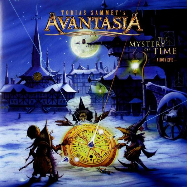 Tobias Sammet's Avantasia - The Mystery Of Time (A Rock Epic) (Vinyl, LP)