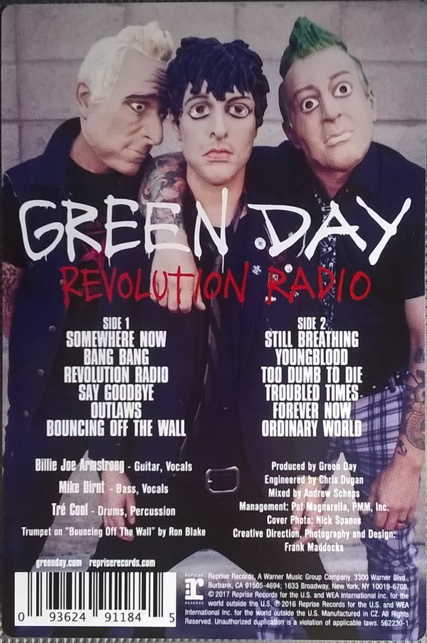 Green Day - Revolution Radio (Vinyl, LP)