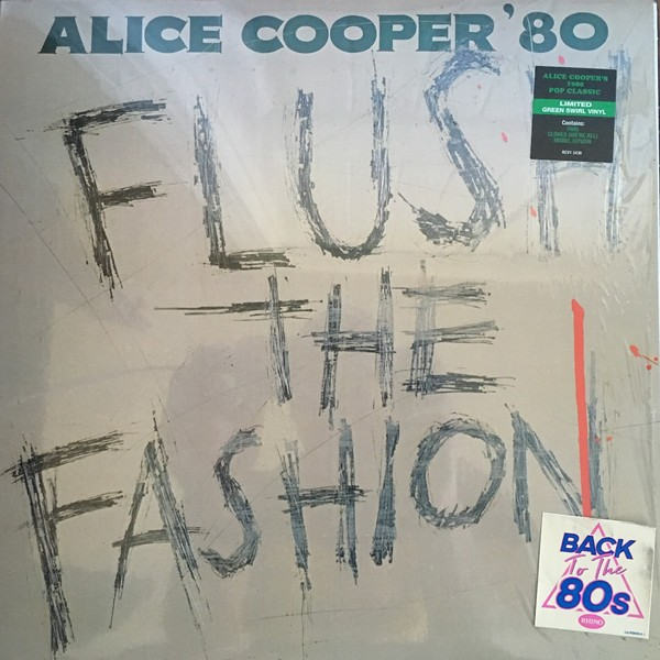 Alice Cooper (2) - Flush The Fashion (Vinyl, LP)