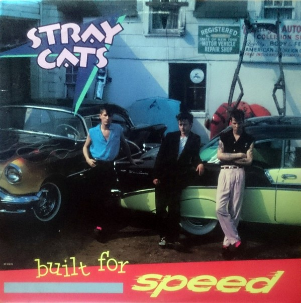 Stray Cats - Built For Speed (Vinyl, LP)