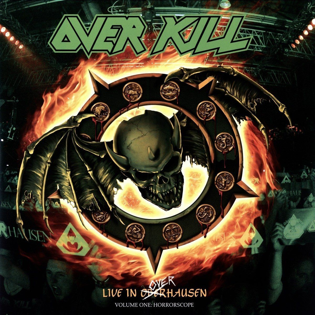Overkill - Live In Overhausen Volume Two: Feel The Fire (Vinyl, LP)