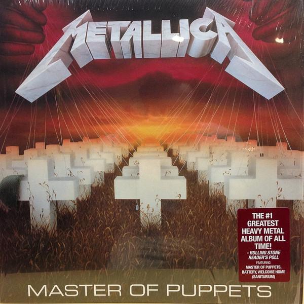 Metallica - Master Of Puppets (Vinyl, LP)