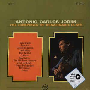 Antonio Carlos Jobim - The Composer Of Desafinado, Plays (Vinyl, LP)