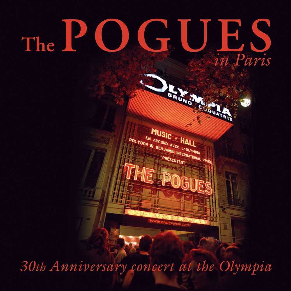 The Pogues - Live in Paris: 30th Anniversary concert at the Olympia (cd+dvd, digipak)