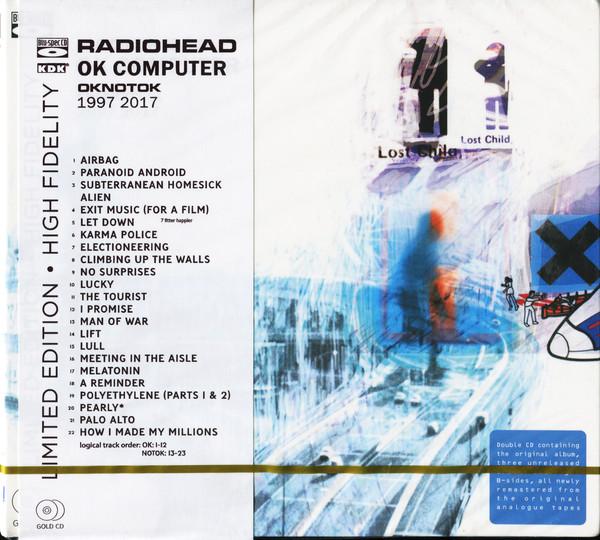 Radiohead - OK Computer OKNOTOK 1997 2017 (2cd, digipak) (Remastered, Blu-Spec CD)