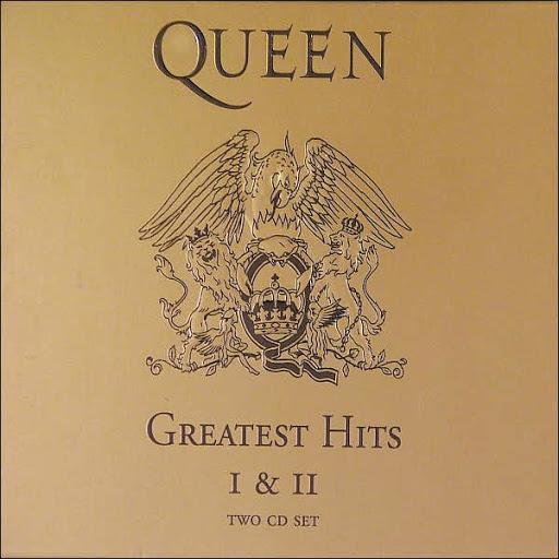 Queen - Greatest Hits I & II (2CD, 1992)