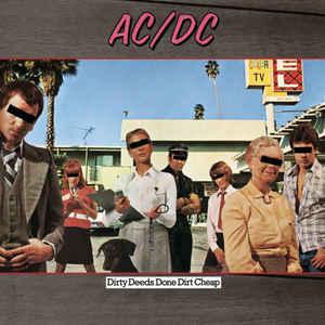 AC/DC - Dirty Deeds Done Dirt Cheap (Vinyl, LP)