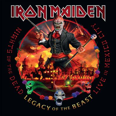 Iron Maiden - Nights Of The Dead, Legacy Of The Beast: Live In Mexico City (2cd) (2020)
