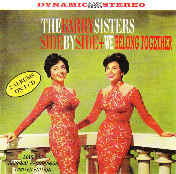 The Barry Sisters - Side By Side & We Belong Together (1961)